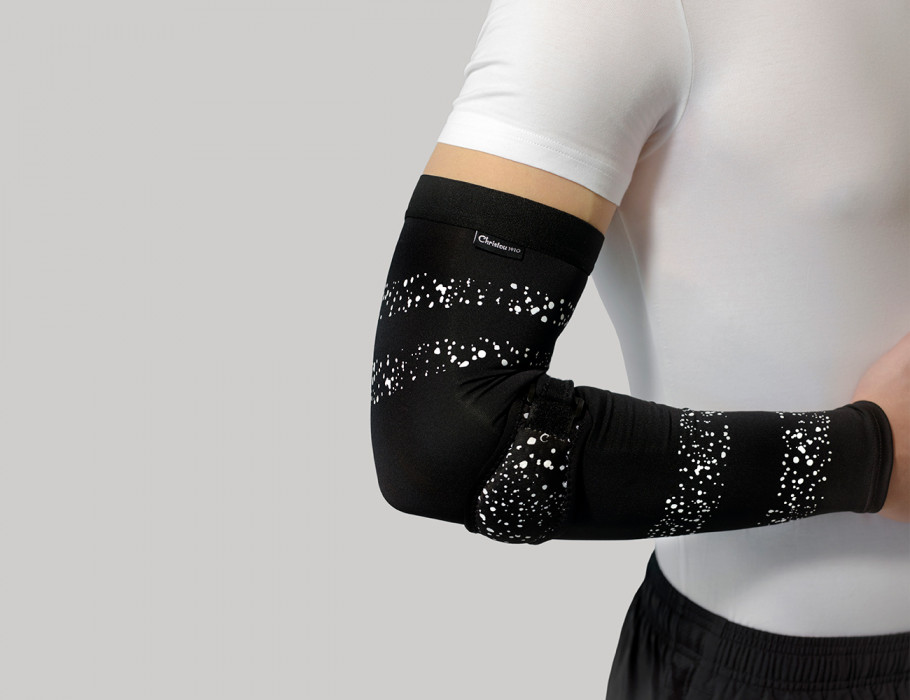 Silicon Tennis Elbow Support & Compression Sleeve