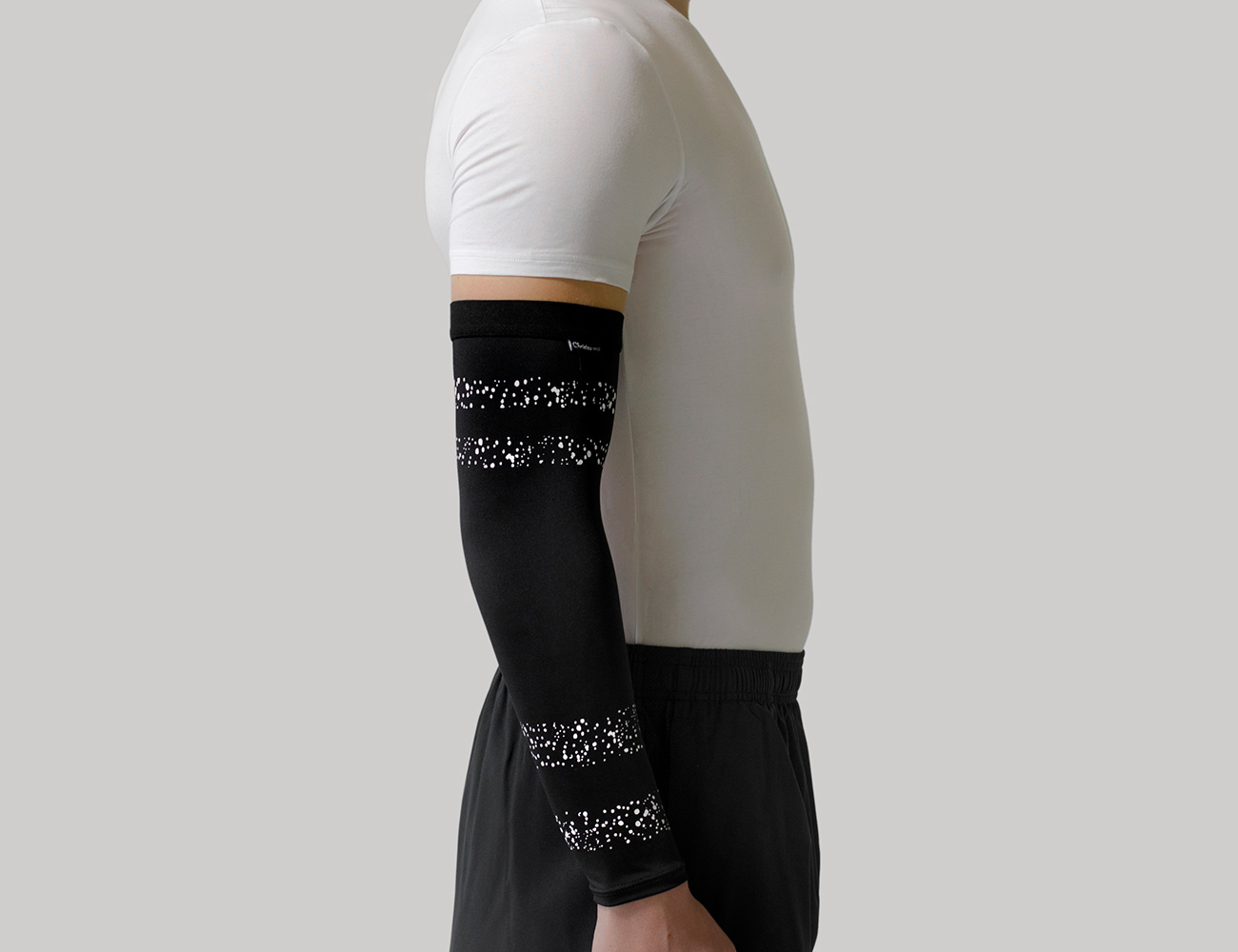 Silicone Tennis Elbow Support & Compression Sleeve