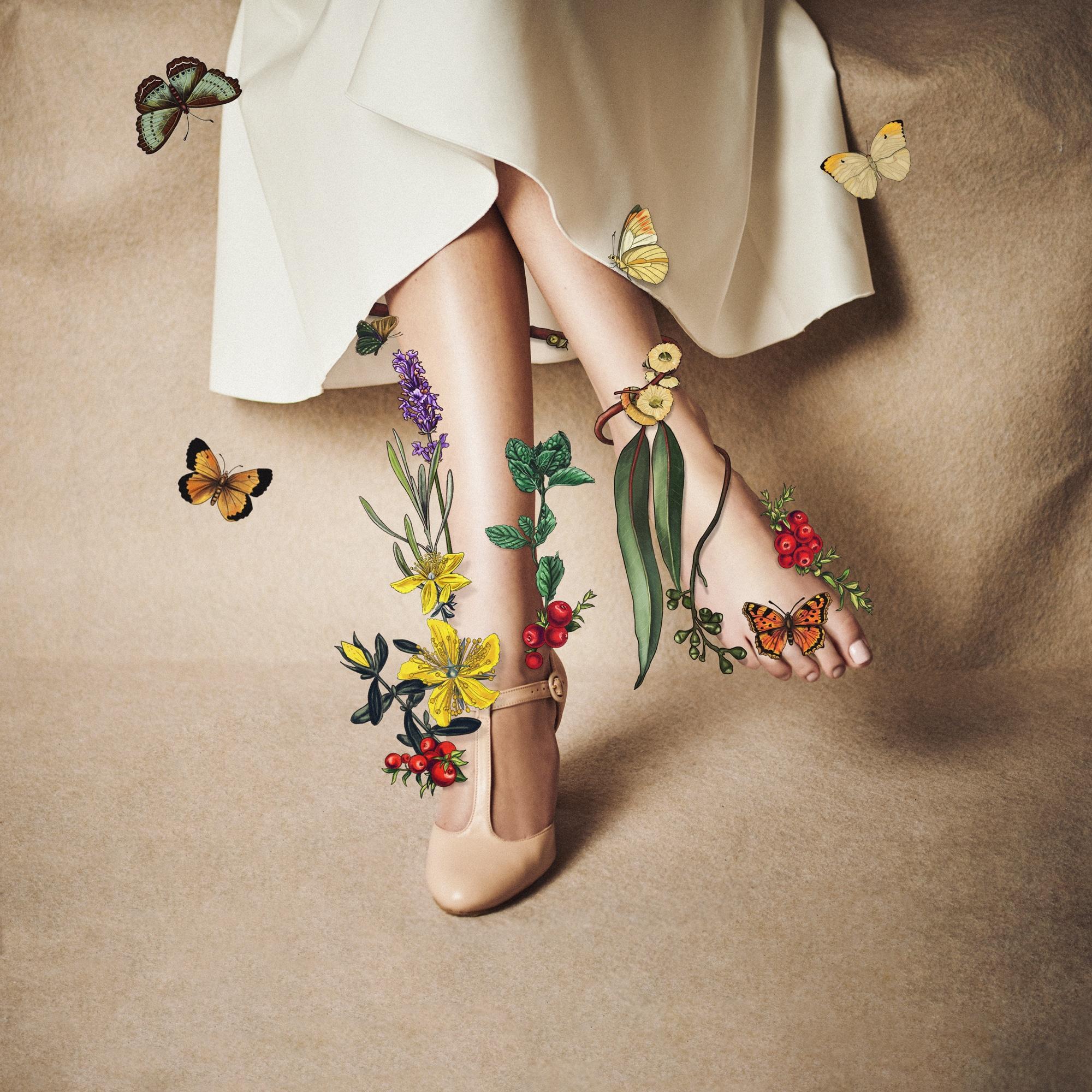 blossomed feet