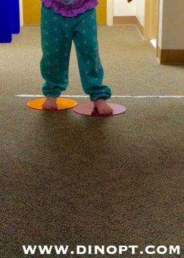 kid skating on the floor