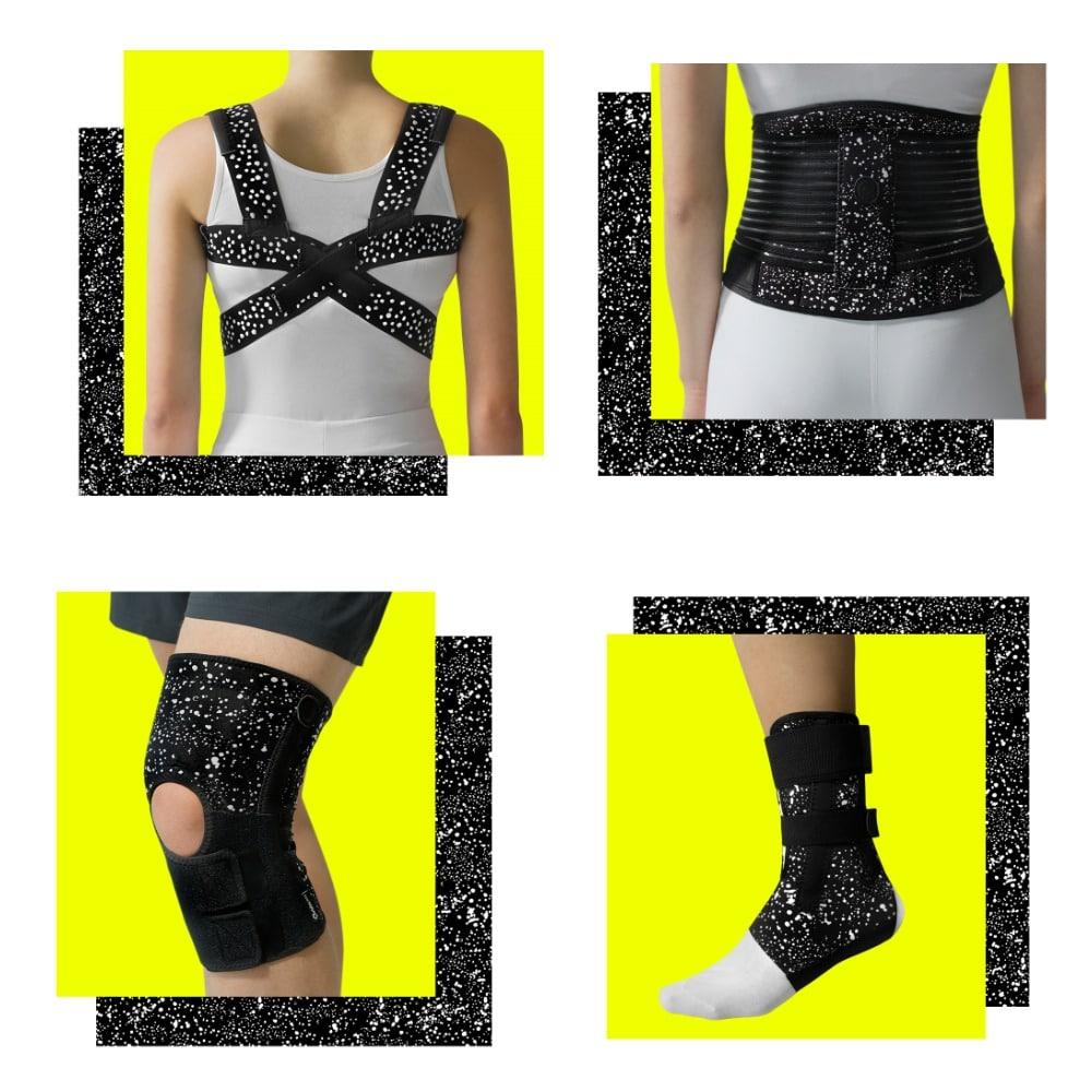 bandage collage