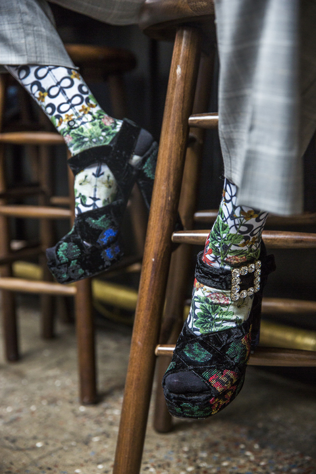 socks staircase