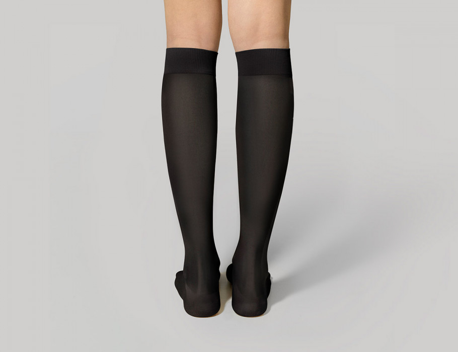 Graduated Compression Knee-High Socks for Women 140 DEN