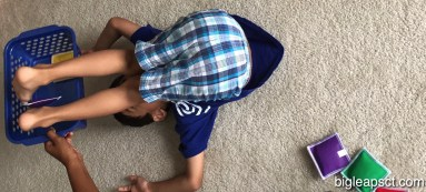 kid rolling over