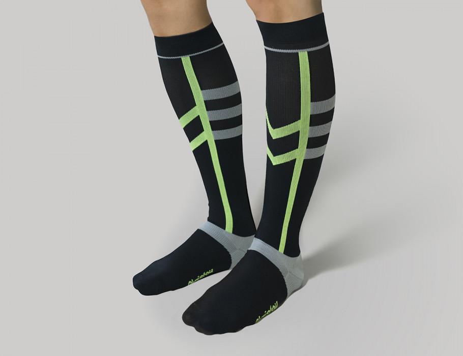Αθλητικές Κάλτσες Διαβαθμισμένης Συμπίεσης