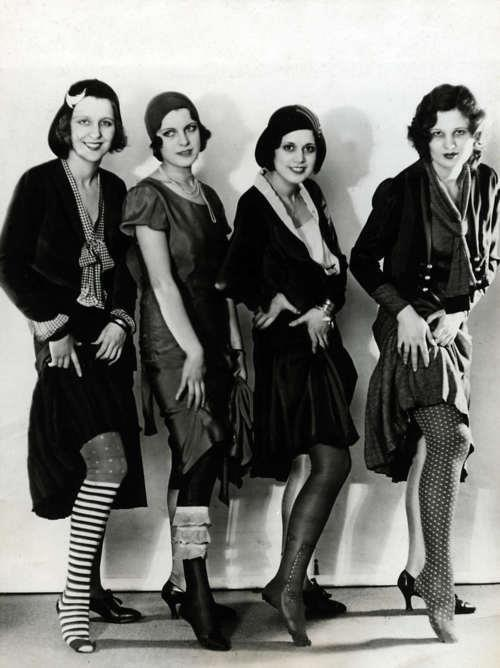 Flappers stockings