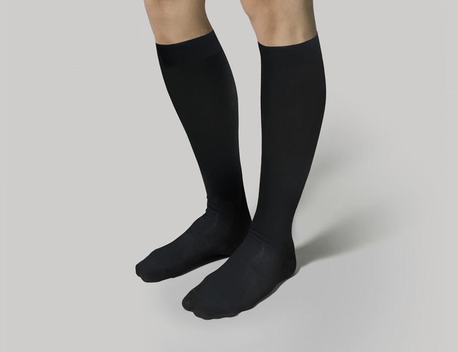 Αντρικές Κάλτσες Διαβαθμισμένης Συμπίεσης με Βαμβάκι