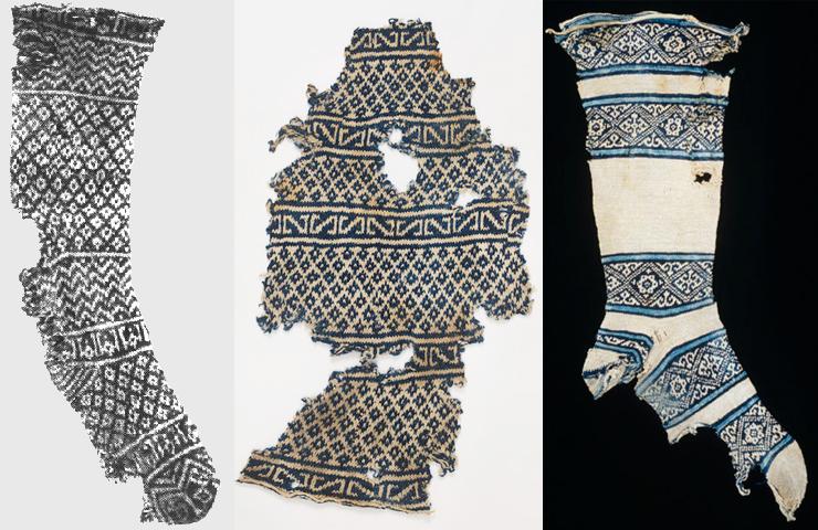 Ancient Egyptian socks